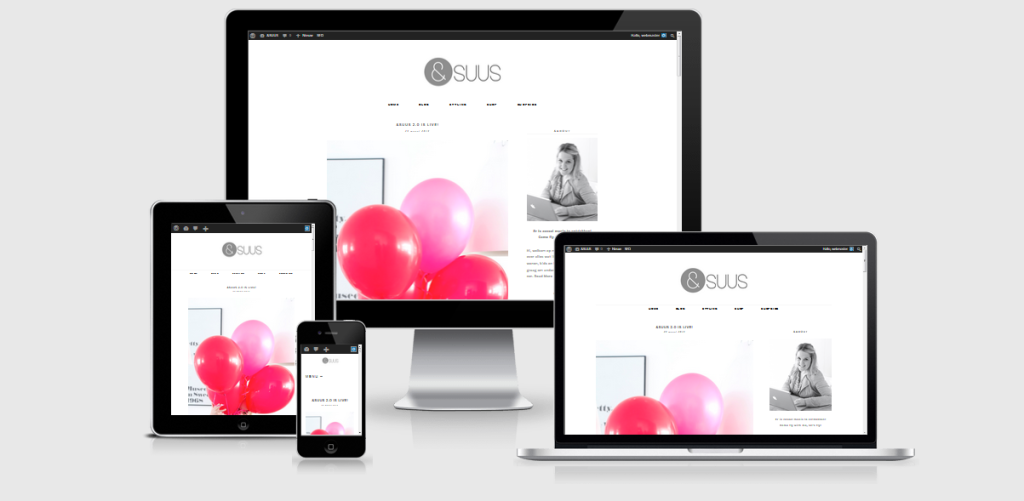 ensuus.nl, &SUUS, Webshop, Online, Website, WordPress, Woocommerce