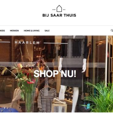 Webshop Bij Saar Thuis