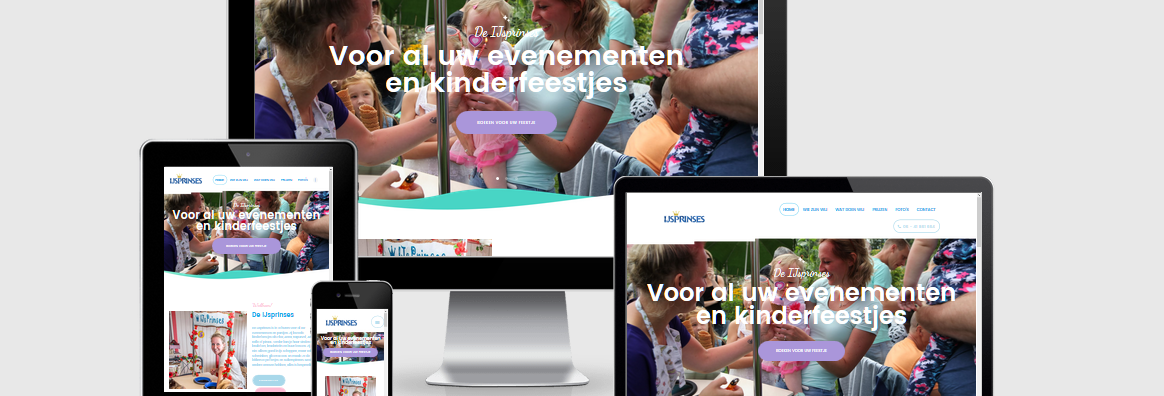 Website deIjsprinses.nl